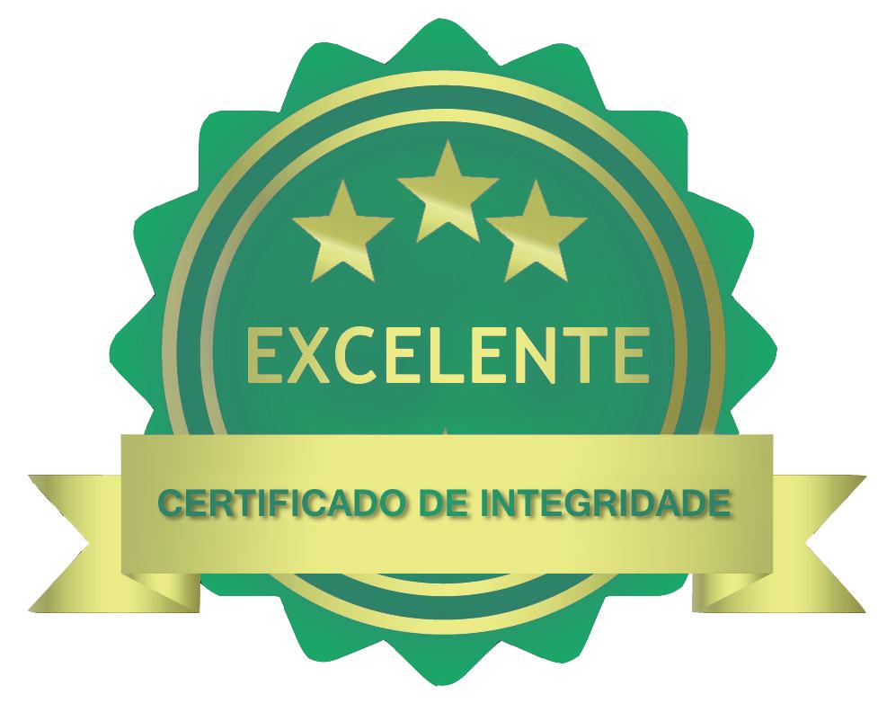 Certificado de integridade da página